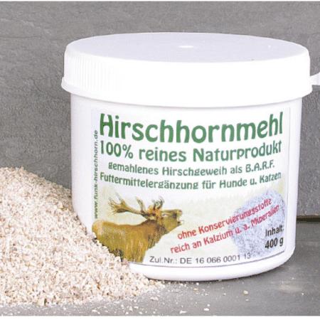 Hirschhornmehl - Natürliches Supplement