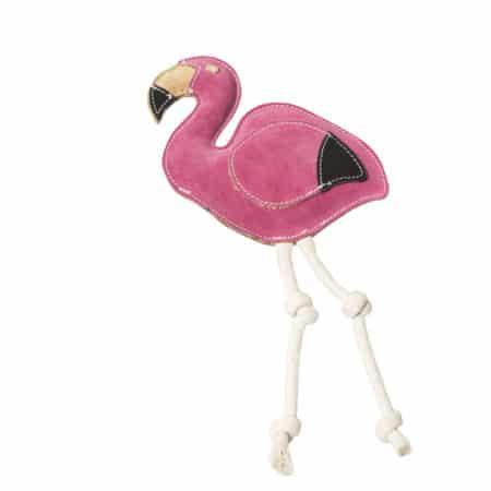 Scooby Flamingo - NufNuf Lederspielzeug