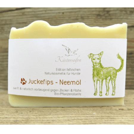 "Bio-Hundeseife & Shampoo ""Juckefips"" - Küstenseifen"