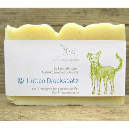 """Bio-Hundeseife & Shampoo """"Lütten Dreckspatz"""" - Küstenseifen"""